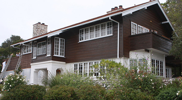 Exterior House Painting in Santa Monica, CA