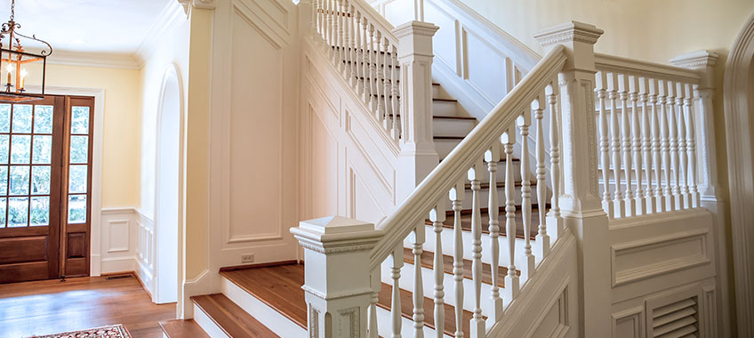 Painting or Staining Stairs & Railings